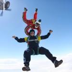 Débuter en parachutisme : la PAC, Progression Accompagnée en Chute