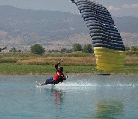 Discipline du parachutisme : le canopy piloting