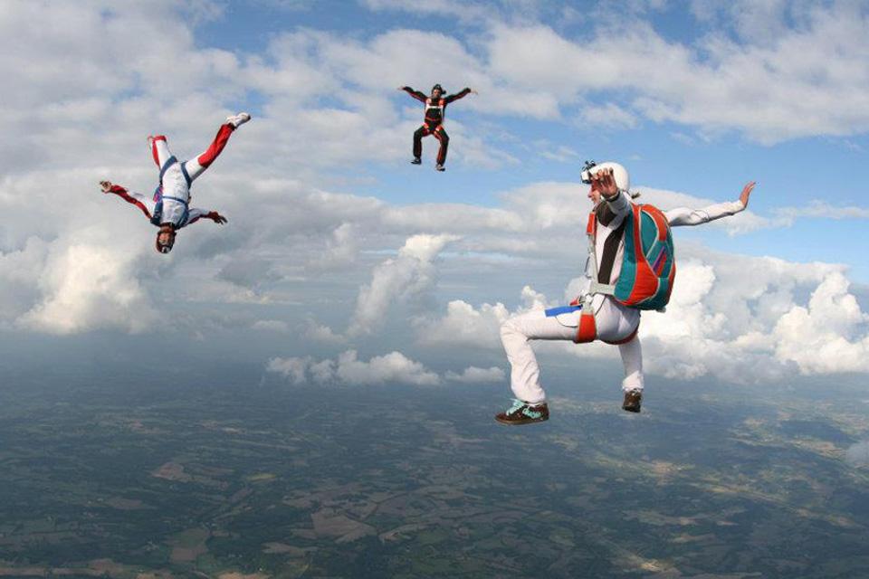 Discipline du parachutisme : le freefly