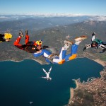 Animation vol relatif à Propriano en Corse par Bouloc : saut fun