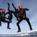 Discipline du parachutisme : le vol relatif vertical