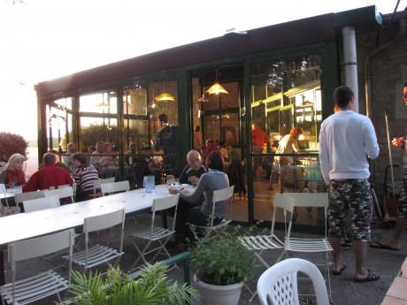 Restauration : terrasse du restaurant