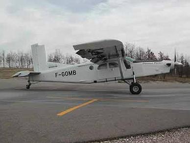 Les avions : Pilatus PC-6 F-GOMB