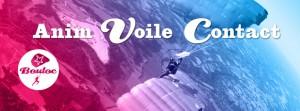 Bannière web pour l'animation Voile Contact à Bouloc