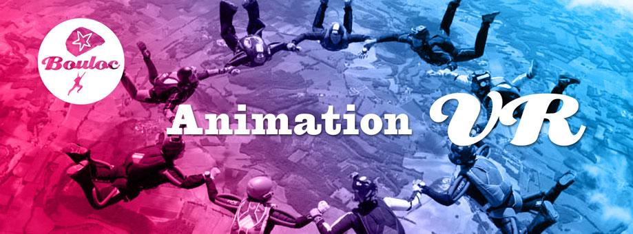 Bannière web pour l'animation VR Vol Relatif à Bouloc