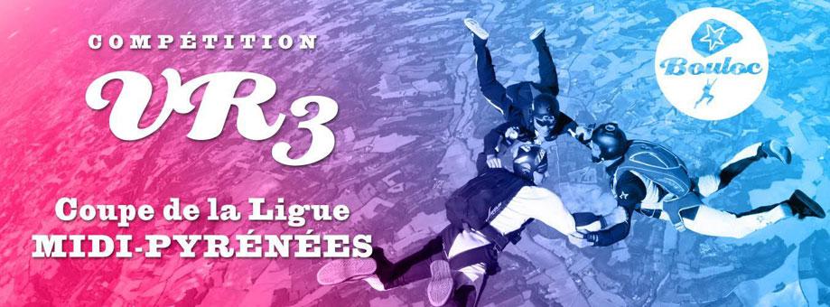 Bannière web pour la compétition de VR3 : Coupe de la Ligue Midi-Pyrénées à Bouloc