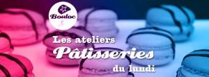 Bannière web pour les ateliers pâtisseries du lundi à l'école de parachutisme de Bouloc