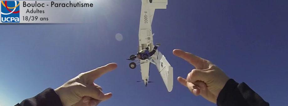 Découvrir le parachutisme avec l'UCPA à Bouloc