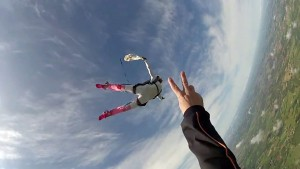PAC parachutisme UCPA de Manon Rodriguez à Bouloc