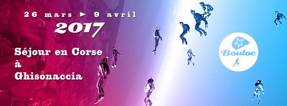 Bannière web pour le séjour en Corse du 26 mars au 9 avril
