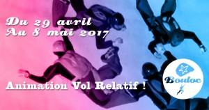 Bannière Facebook pour l'animation Vol Relatif du 29 avril au 8 mai