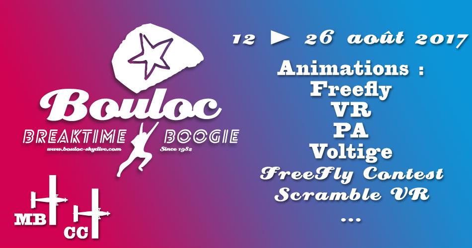 Bannière Facebook pour le Bouloc Breaktime Boogie 2017