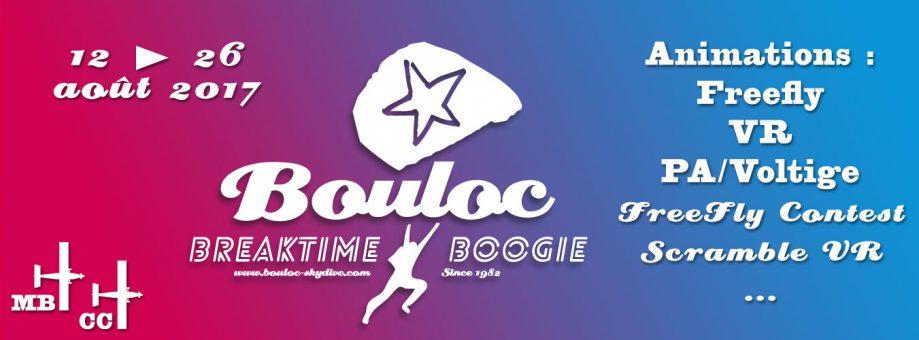 Bannière web pour le Bouloc Breaktime Boogie 2017