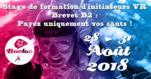 Bannière Facebook pour le brevet B2, payez uniquement vos sauts du 28 au 31 août !