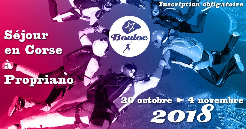 Bannière Facebook pour le séjour en Corse à Propriano à l'automne 2018, du 20 octobre au 4 novembre
