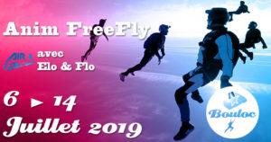 Bannière Facebook pour l'animation FF FreeFly du 6 au 14 juillet 2019