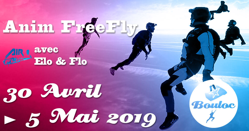 Bannière Facebook pour l'animation FF FreeFly du 30 avril au 5 mai 2019