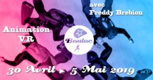 Bannière Facebook pour l'animation VR Vol Relatif du 30 avril au 5 mai 2019