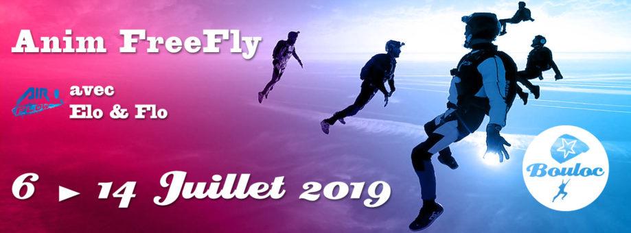 Bannière web pour l'animation FF FreeFly du 6 au 14 juillet 2019