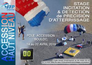 Stage accession haut niveau PA Précision d'Atterrissage avril 2019