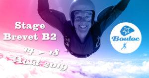 Bannière Facebook pour le stage brevet B2 du 15 au 24 août