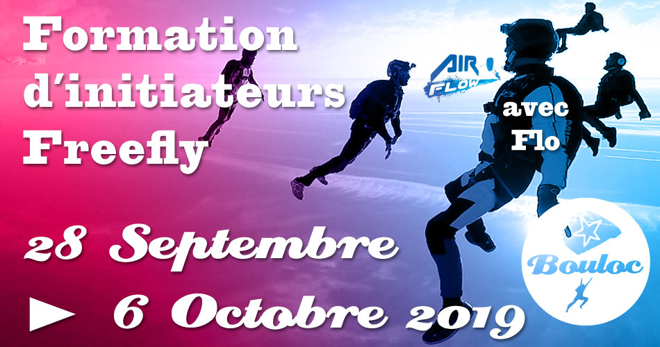 Bannière Facebook pour la formation d'initiateurs Freefly du 28 septembre au 6 octobre 2019