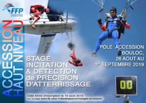 Stage accession haut niveau PA Précision d'Atterrissage août 2019
