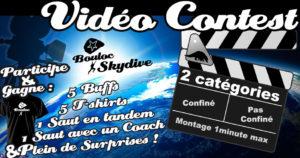 Bannière Facebook pour le vidéo contest de mai 2020