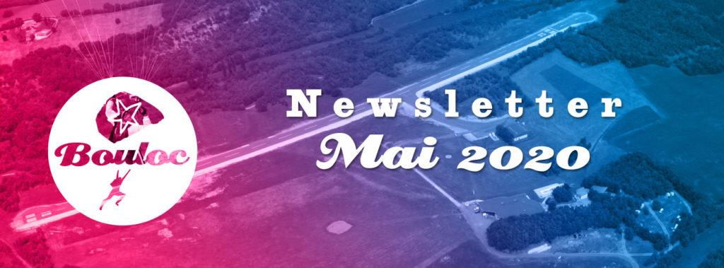 Newsletter Bouloc Skydive - Septembre 2019