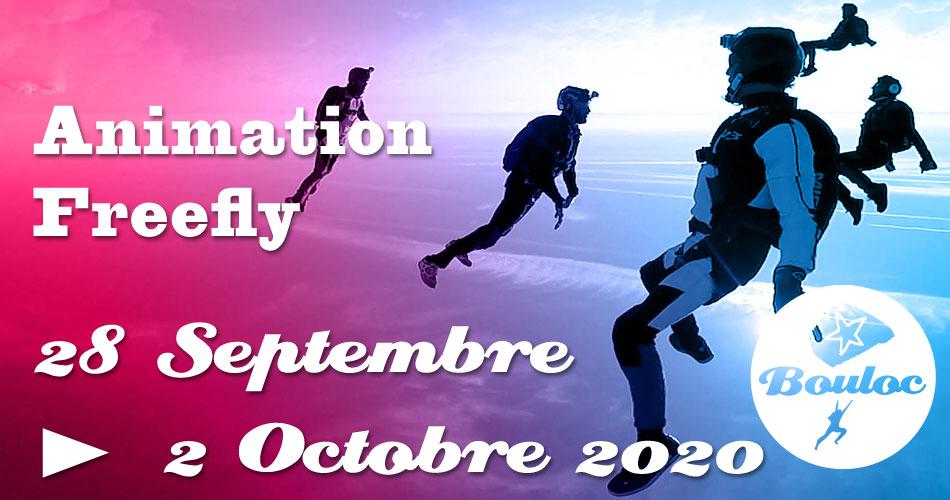 Bannière Facebook pour l'animation Freefly du 28 septembre au 2 octobre 2020