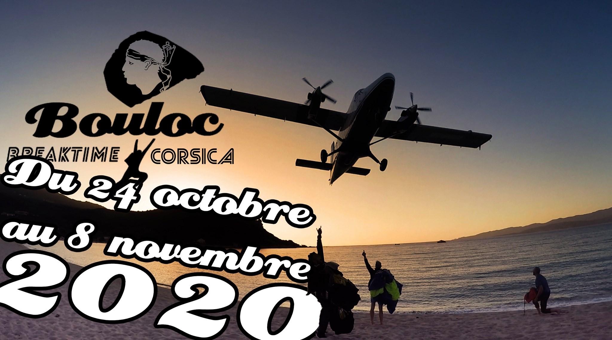 Bannière Facebook pour le séjour en Corse à Propriano à l'automne 2020, octobre et novembre