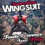 Animation wingsuit toute l'année à Bouloc Skydive